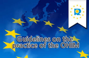Community Trademark: Updated OHIM's guidelines adopted on 1st August 2015
